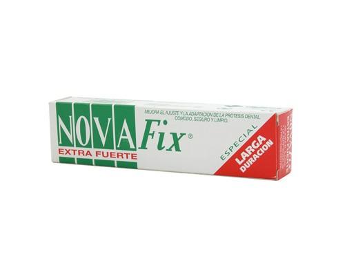 NOVAFIX EXTRAFUERTE ESPECIAL LARGA DURACION - ADHESIVO PROTESIS DENTAL (40 G)