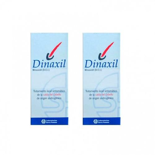 DINAXIL 20 MG/ML SOLUCION CUTANEA 2 frascos de 60 ml
