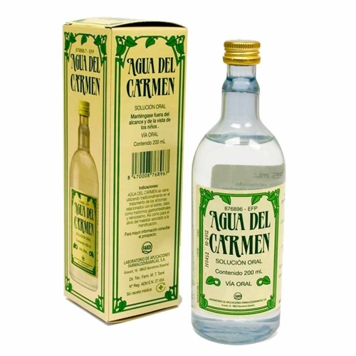 AGUA DEL CARMEN SOLUCIÓN ORAL , 1 frasco de 200 ml