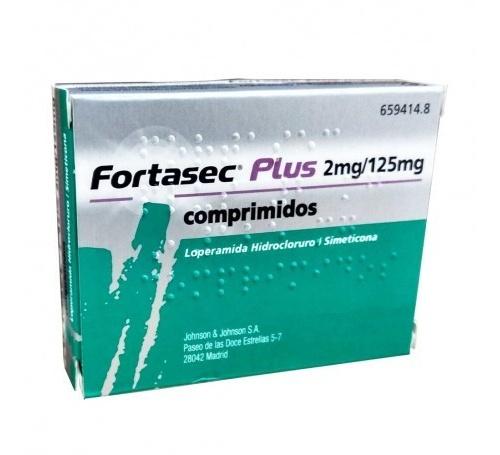 FORTASEC PLUS 2 mg/ 125 mg COMPRIMIDOS  , 12 comprimidos