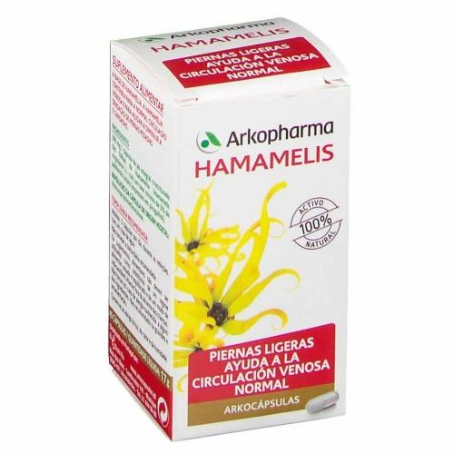 ARKOCAPSULAS HAMAMELIS 290 mg CAPSULAS DURAS, 48 cápsulas