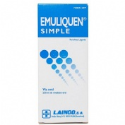 EMULIQUEN SIMPLE 478,26 mg/ml EMULSION ORAL , 1 frasco de 230 ml