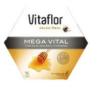 Vitaflor jalea real mega vital ampolla bebible (1500 mg 200 ml 20 amp)