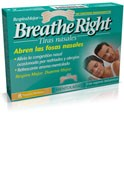 BREATHE RIGHT - TIRA ADH NASAL BALSAMICA (T- GDE 8 U)