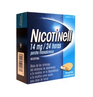 NICOTINELL 14 mg/24 HORAS PARCHE TRANSDERMICO, 28 parches
