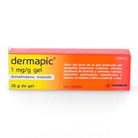 DERMAPIC 1 MG/G GEL, 1 tubo de 30 g