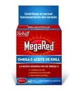 MEGARED 500 OMEGA 3 ACEITE DE KRILL (40 CAPSULAS)