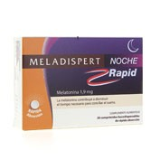 Meladispert noche rapid (1.90 mg 20 comp)