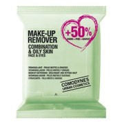 COMODYNES MAKE UP REMOVER COMBINATION OILY SKIN (20 + 10 TOALLITAS)