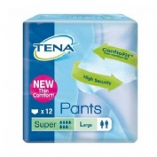 ABSORB INC ORINA LIGERA - TENA PANTS SUPER (T- GDE 12 U)