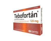 TEBOFORTAN 120 MG COMPRIMIDOS RECUBIERTOS CON PELICULA , 30 comprimidos