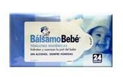 BALSAMO BEBE TOALLITAS HIDRATANTES (24 TOALLITAS)
