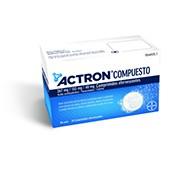 ACTRON COMPUESTO 267 MG/133 MG/40 MG COMPRIMIDOS EFERVESCENTES, 20 comprimidos
