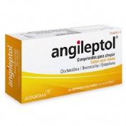 ANGILEPTOL COMPRIMIDOS PARA CHUPAR SABOR MIEL-LIMÓN, 30 comprimidos