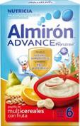 Almiron multicereales con fruta advance 300 g 2