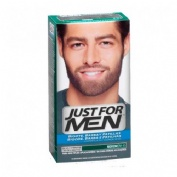 JUST FOR MEN BIGOTE Y BARBA - GEL COLORANTE (30 CC MORENO)