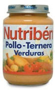 NUTRIBEN POLLO TERNERA VERDURA (POTITO JUNIOR 200 G)