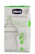 BIBERON PLASTICO PP T SILICONA - CHICCO STEP UP 2 0% BISFENOL BOCA ANCHA FLUJO NORMAL (2 M+ 150 ML)