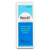 VERUFIL SOLUCION CUTANEA, 1 frasco de 15 ml
